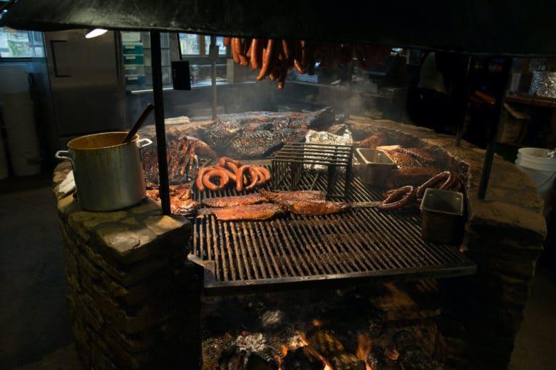 Texas Style BBQ Pit wie in den USA