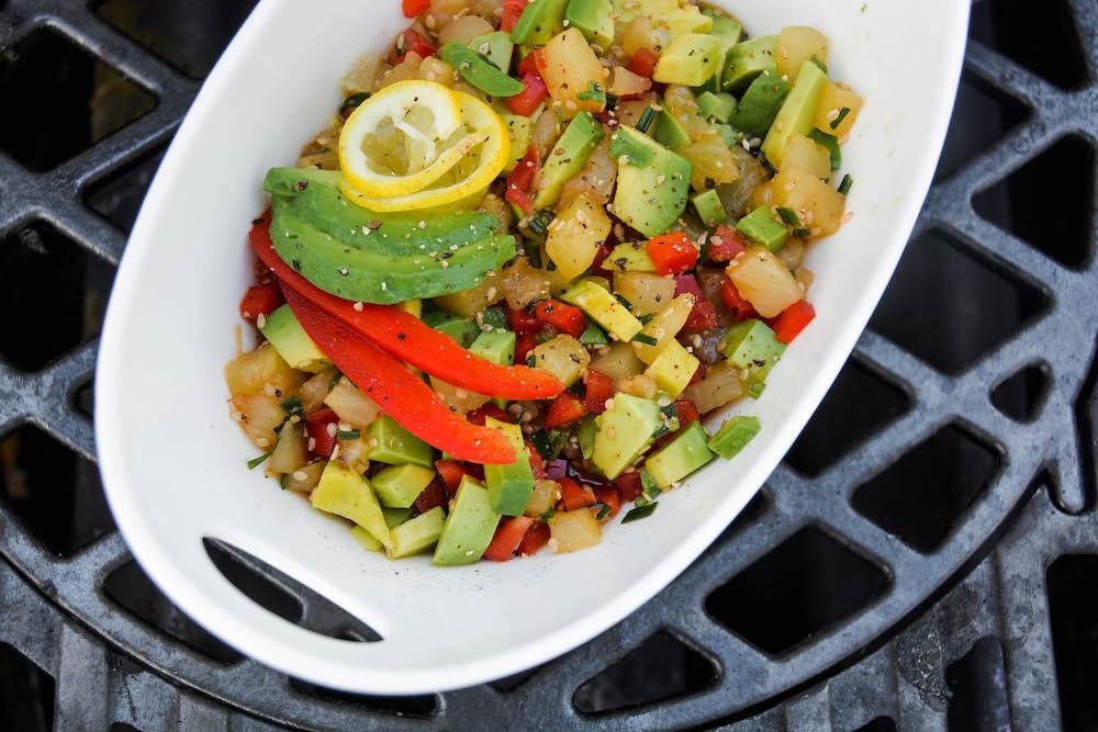 fruchtiges Hawaii Salsa für unser Chicken Hawaii vom Grill