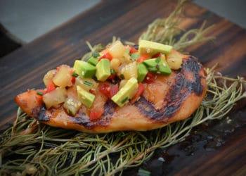 Saftiges Chicken Hawaii vom Grill - chicken hawaii 21 - 9
