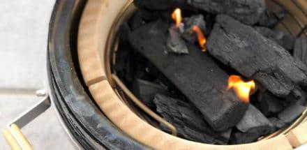 Lachs Torte vom Grill - den Monolith Icon anfeuern