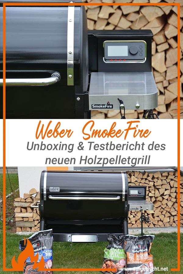 Weber SmokeFire auf Pinterest pinnen