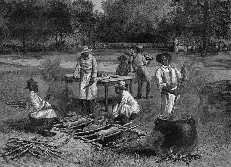 Geschichte und Ursprung des BBQ - BBQ Pit im Erdloch