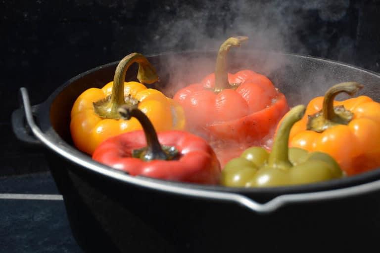 Gefüllte Paprika aus dem Dutch Oven - gefuellte paprika dutch oven 29 - 16