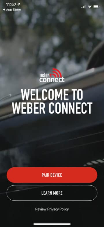 Weber Connect Smart Grilling Hub Unboxing & Testbericht - weber connect app 02 - 8