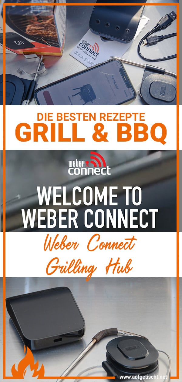 Weber Connect Grilling Hub Pinterest Pin