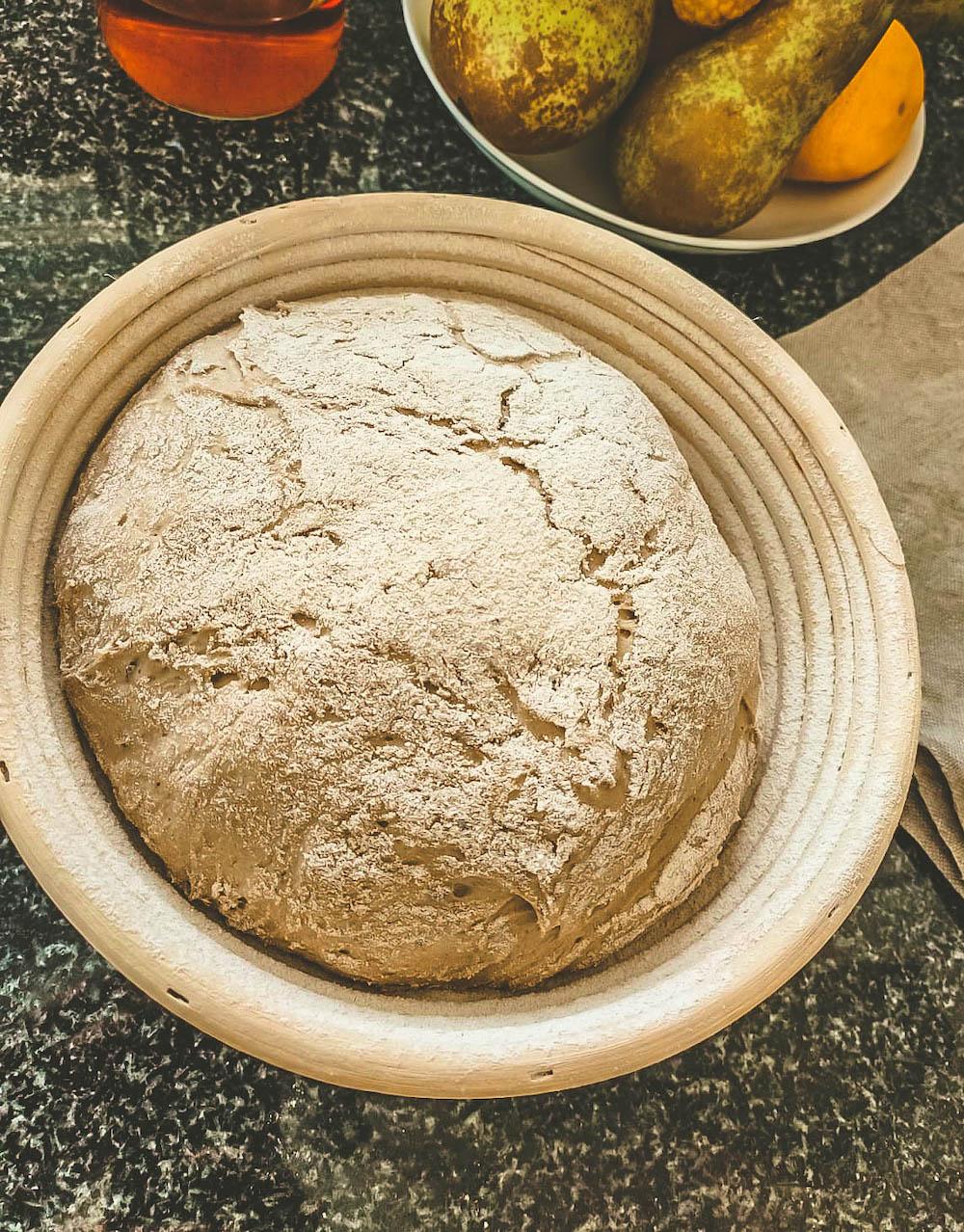 Brot backen - Vorbereitung im Simperl