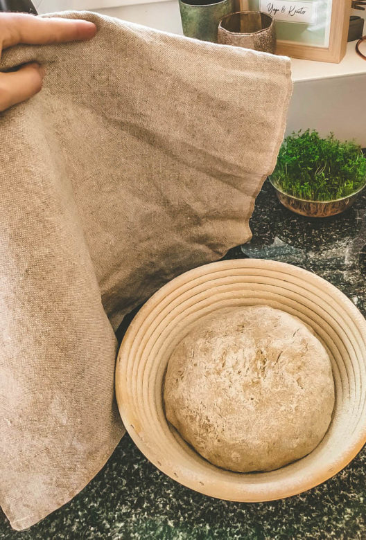 Brot backen - Den Teig genug Zeit zum Rasten geben