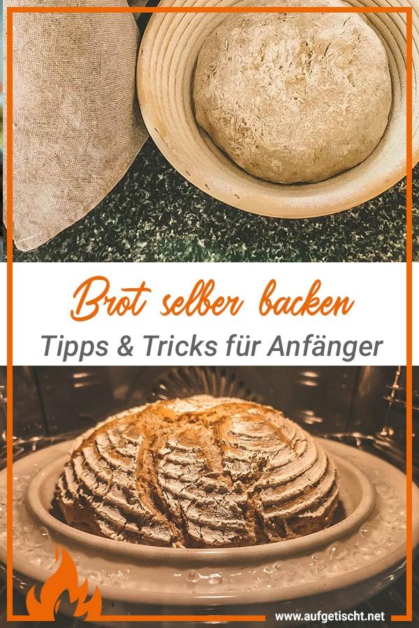 Brot backen für Anfänger auf Pinterest pinnen