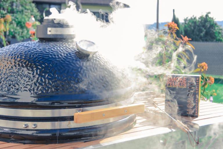 Chilis räuchern & trocknen im Smoker - chilis trocknen 04 1 - 17