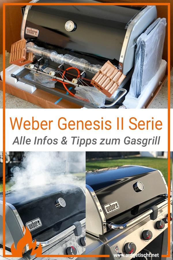 Weber Genesis II Serie - Alle Tipps und Infos zum Gasgrill auf Pinterest pinnen