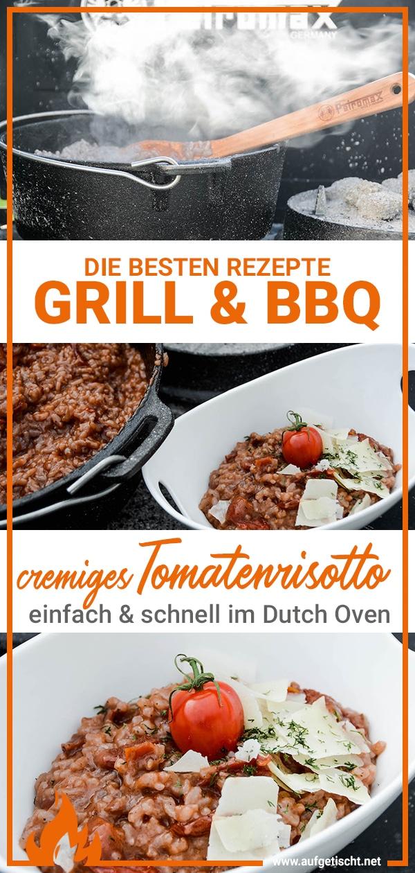 Rezept für das cremige Tomatenrisotto aus dem Dutch Oven