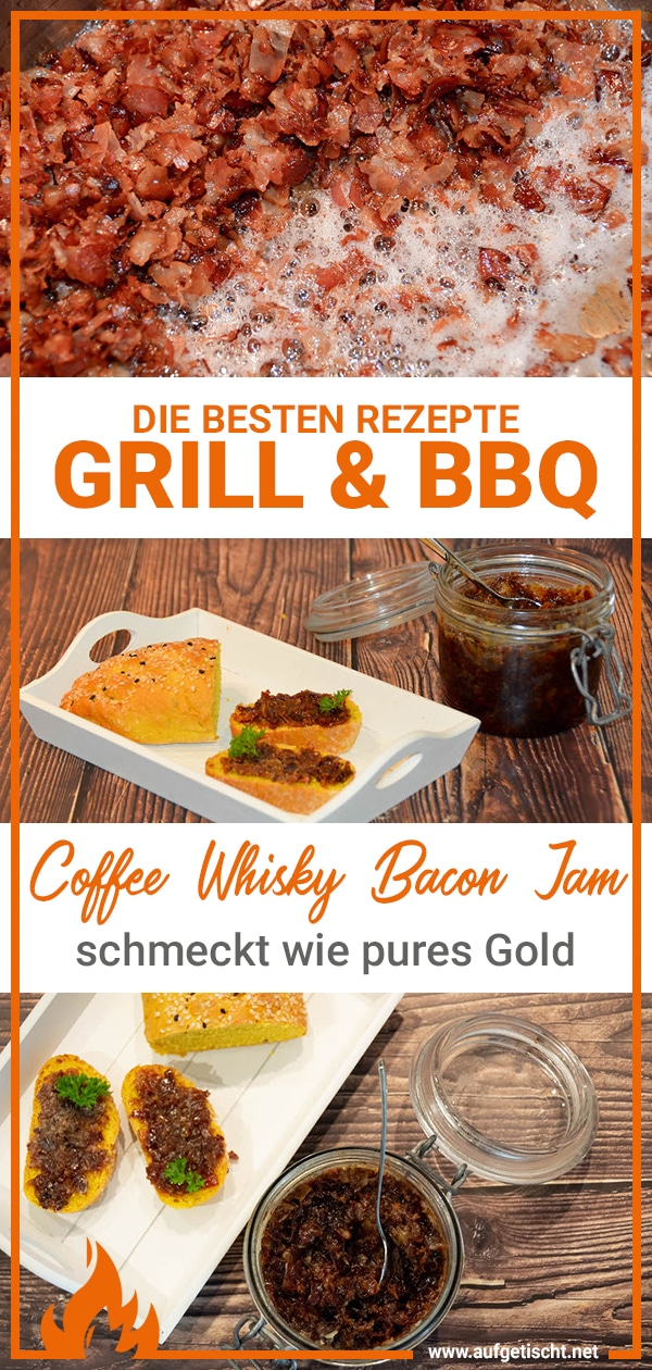 Coffee Whisky Bacon Jam Rezept auf Pinterest pinnen