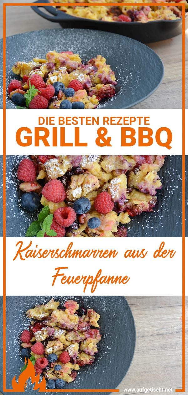 Kaiserschmarren mit frischen Beeren aus der Feuerpfanne auf Pinterest pinnen