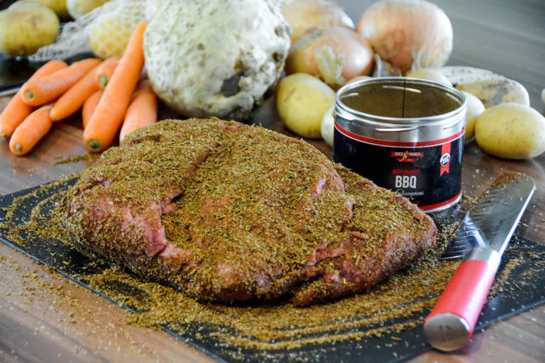 Yankee Pot Chuck Roast (Yankee-Rinderbraten vom Pelletgrill) - yankee pot chuck roast 03 - 29