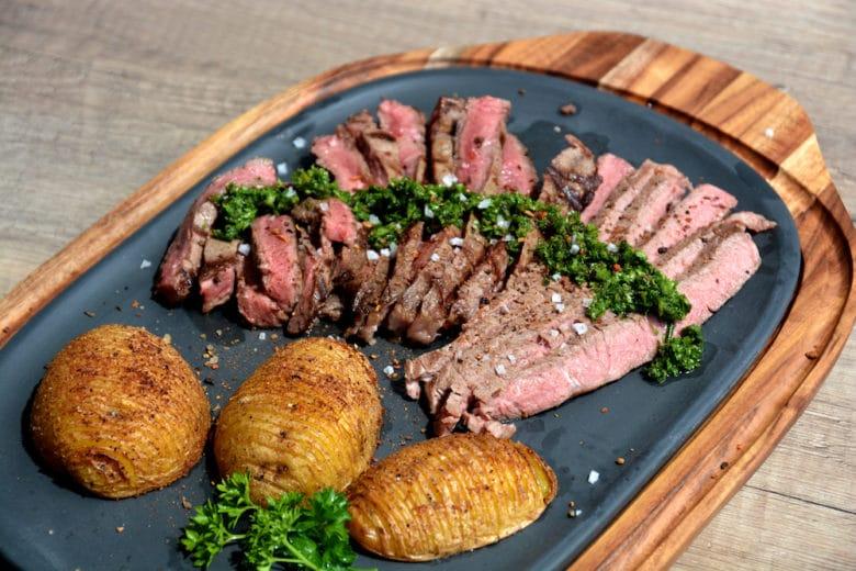 Club Steak vom Grill medium