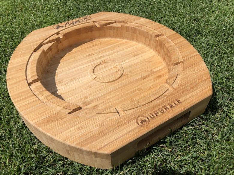 Geschenkideen für Grillfans: Unser BBQ Chef Board von Upgrate mit eingebranntem Logo