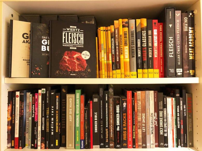Eine kleine Auswahl unserer aktuellen Grillbücher