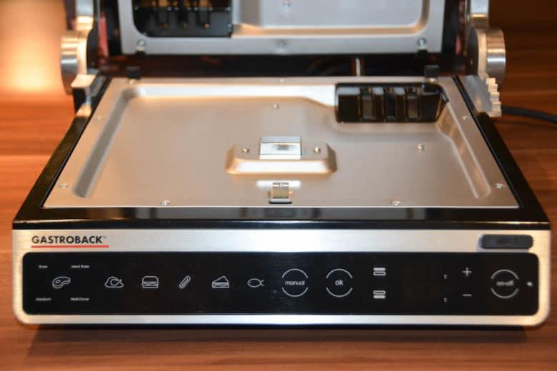 Der neue Gastroback Design BBQ Advanced Smart Tischgrill / Kontaktgrill