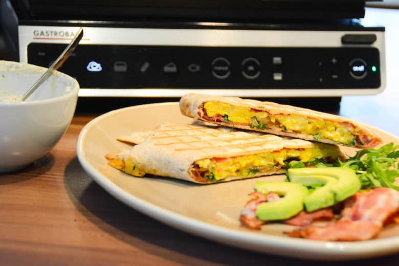 Bacon & Egg Toasts vom Gastroback Design BBQ Advanced Smart Tischgrill / Kontaktgrill