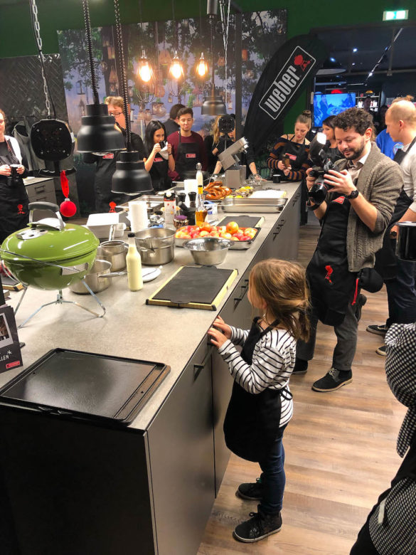 Spontane Aktion für unsere Tochter - Ihr erster Grillkurs - eine besondere Erinnerung - Grillen mit Kindern