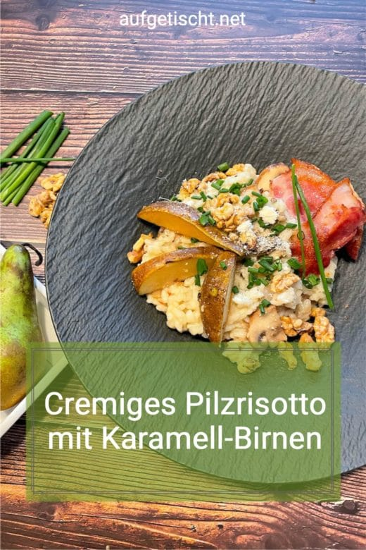 Cremiges Pilzrisotto auf Pinterest pinnen
