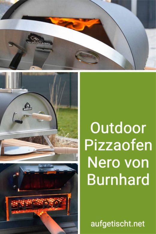 Outdoor Pizzaofen Nero von Burnhard