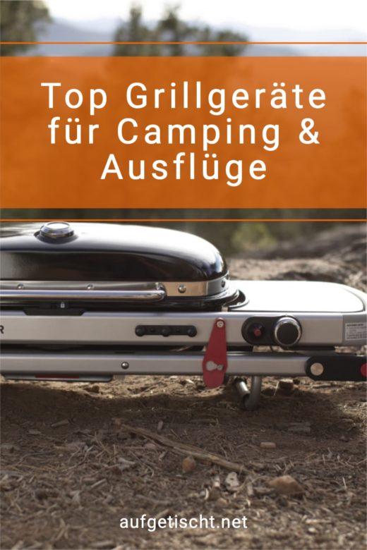 Top Grillgeräte für Camping und Ausflug
