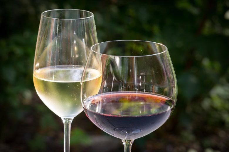 Weinverkostung - auch die Farbe des Weines ist ein wichtiger Faktor
