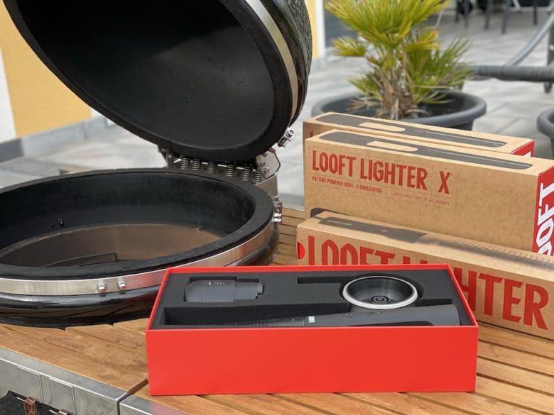 Der Looft Lighter X - Grillanzünder mit Akku