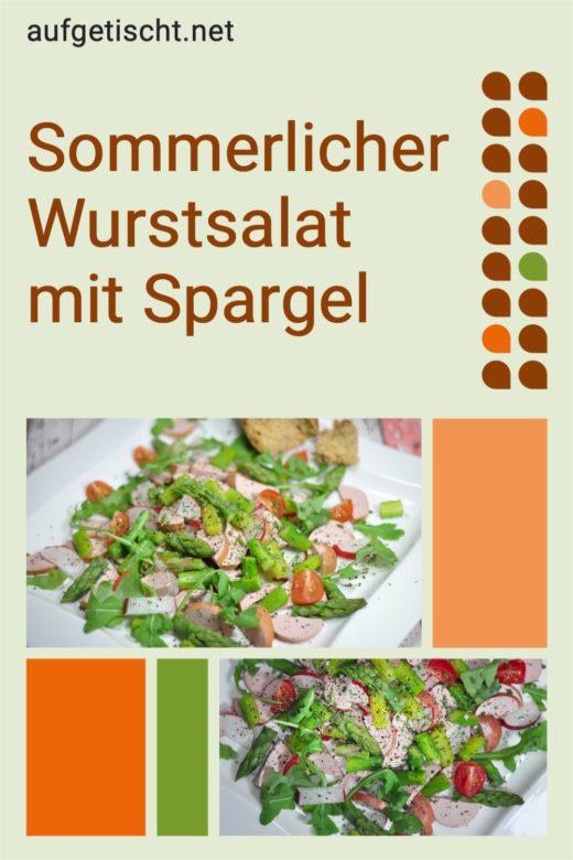 Sommerlicher Wurstsalat mit Spargel - Sommerlicher Wurstsalat mit Spargel 1 - 26