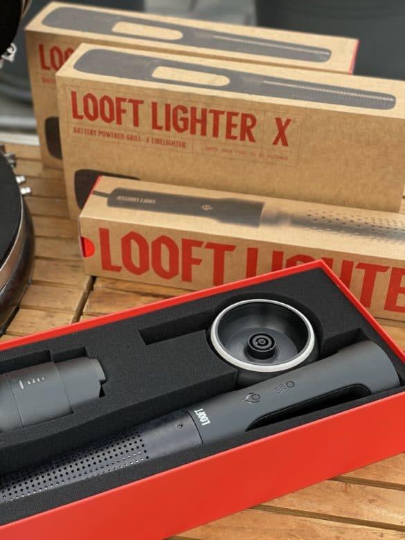 Looft Lighter X - der elektrische Grillanzünder mit Akku