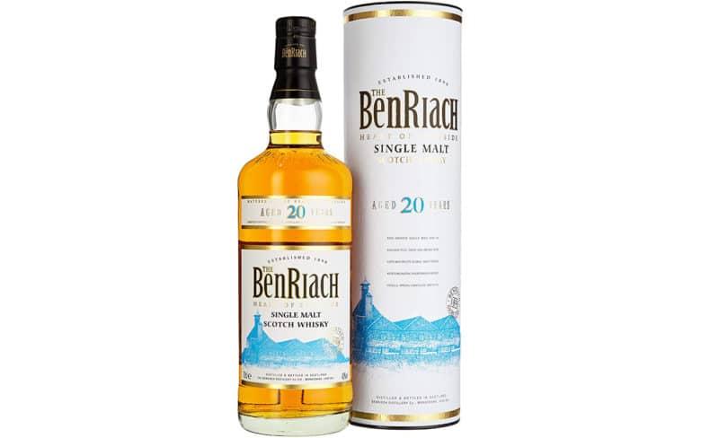 The BenRiach Single Malt Scotch Whisky 20 Jahre