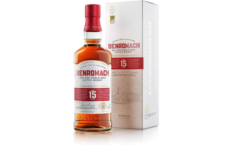 Benromach Speyside Single Malt Scotch Whisky 15 Jahre