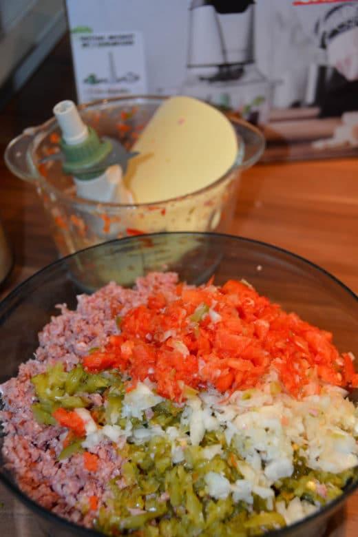 Mini Chopper von Gastroback zerkleinert Wurst, Gemüse & Co