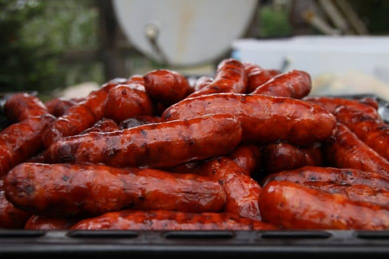 Spanische Paella mit Huhn, Shrimps & Chorizo - chorizo spanische rohwurst - 7